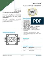 TGA2238-CP Data Sheet