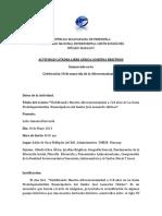 Sistematización de Actividades  Catedra Africa