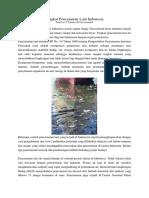 Artikel Pencemaran Laut