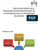 Optimizacion de Recursos Programa Burgos