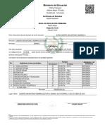 Certifica primaria 2017