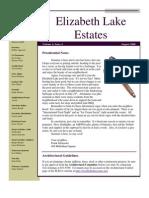 ELECA Newsletter August 2008