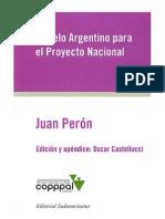 Peron Modelo Argentino Para El Proyecto Nacional