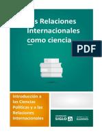 C) Concepto 1 Las Relaciones Internacionales Como Ciencia 9