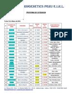 Precios Pajillas Brown Swiss Progenetics 02-19 ACTUAL