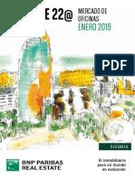 Estudio de mercado de oficinas Barcelona 2019