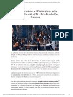 Mofa en los salones y filósofos ateos_ así se fraguó el odio anticatólico de la Revolución Francesa - ReL