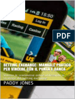 Betting Exchance Manuale Pratico