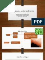 Sx Urticariforme