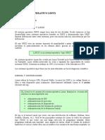 el sistema operativo linux