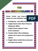 Visi Misi Tujuan Sdn Pp 06 (Repaired)