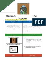 raymonds run vocabulary hyperdoc module 4