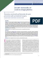 Efecto Analgésico Del Etoricoxib y El Ketorolaco Vía Oral en Cirugía Plástica Periodontal