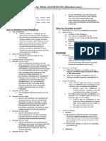 Election Law Finals Outline WMSU.doc