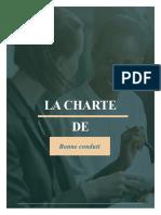 La Charte de bonne conduit