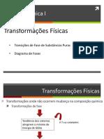 slide transformações físicas