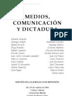 Varios Autores Medios Comunicacion y Dictadura