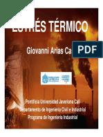ESTRES TERMICO DIAPOSITIVAS
