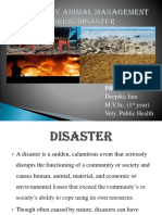 Emergency Animal Management During Disaster