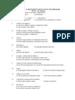 Academic Achievement Motivation Questionnaire