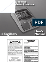 Digitech Rp150 User Manual