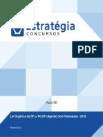 Lei Orgânica do Distrito Federal - PCDF Agente - Estratégia