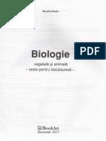 Teste biologie bac
