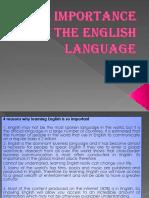 theimportanceoftheenglishlanguage-131207125858-phpapp02