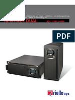 SAI Modelo Riello. SDL 3300 - 4000