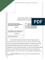 Trump v. Padilla Order