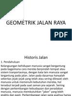 Geometrik Jalan Raya