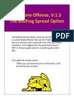 Bullfrog Flexbone Offense