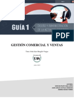 Vidal, Rueda, Castillo Gestion Comercial & de Ventas Guía No 1