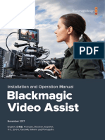 Black Magic Video Assist Manual