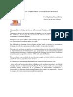 Artículo de Opinión-FALTA DE PISTAS Y VEREDAS EN SUNAMPE PASO DE GOMEZ
