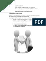 Requisitos Para Firmar Contrato de Obra