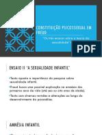 Constituição Psicossexual Em Freud