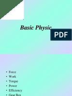 Basic Calculation - Physic