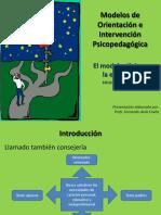Modelos de intervención Psicopedadogica