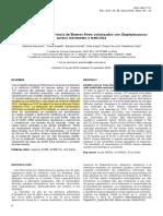 Equinos Sanos de La Provincia de Buenos Aires Colonizados Con Staphylococcus