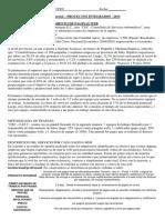 2 Parcial - Proyectos Integrados - 2013