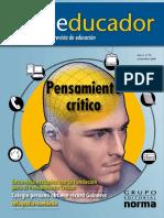 S01 01 Anonimo - El educador - pensamiento critico.pdf