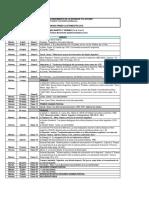 Cronograma ICSE