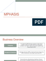 Mphasis - Company Brief