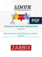 5-Slides Monitoramento Distribuído via Zabbix Proxy