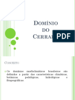 Apresentação - Domínio do Cerrado