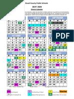 2019-2020 revised weather days calendar 091319 rev10
