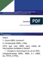 Conceitos de taxonomia XBLR