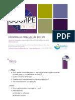 00. Initiation Au Montage de Projet Nathana l Francisco PDF