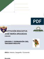 Origen y Expansion Del Tahuantinsuyo PDF